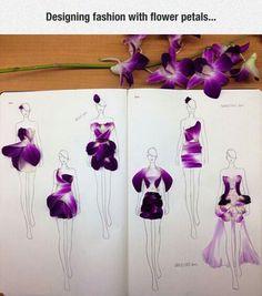 Flower Petals Fashion