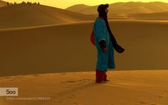 They were the men and the women of the sand  by...  Region Marrakech - Tensift - Al Haouz جهات مراكش - تانسيفت - الحوز africa black blue desert dunes go