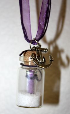 Message in a Bottle Necklace