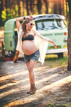 Фотосессия беременности, студийная фотосъемка беременных в Киеве - Юлия Мамренко