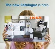 Happy that the new 2013 IKEA catalog is FINALLY here