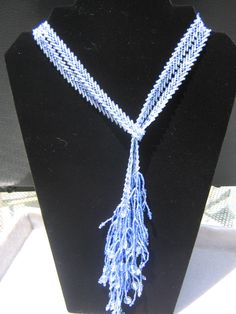 Blue St.Petersburg Chain Necklace
