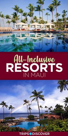Maui Resorts with the Best All-Inclusive Options We're hoping to take our whole family to Maui for our wedding anniversary.We're hoping to take our whole family to Maui for our wedding anniversary. Maui Honeymoon, Honeymoon Vacations, Maui Vacation, Vacation Resorts, Honeymoon Ideas, Vacation Ideas, Greece Vacation, Romantic Vacations, Romantic Travel