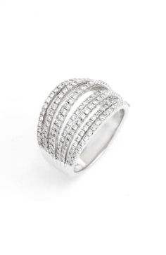 998 SIMULATED DIAMOND STAINLESS STEEL WOMENS RING PEAR CUT BAND CLEAR