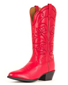 Ariat Women's Heritage Western R Toe Cowgirl Boot - Red Deertan  http://www.countryoutfitter.com/products/27877-womens-heritage-western-r-toe-boot-red-deertan #cowgirlboots