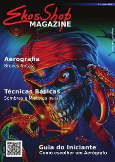 Revista online sobre aerografia: Dicas, Experiêncais, Aprendizagem, Intercâmbio.