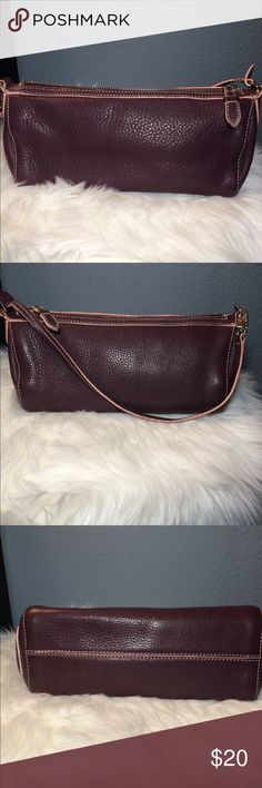 Cole Haan Designer Pebble Leather Satchel Bag Beautiful Cole Haan Small Designer Pebble Leather Satchel Bag/Purse Classic/Fun/Sexy/Fashionable/Timeless ***Please see all pictures for measurements ***Gently Used/In good condition   Bundle and Save Cole Haan Bags Hobos