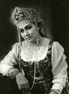 """On the of January 1925 IRINA ARKHIPOVA was born in Moscow. She was the most important dramatic mezzo-soprano of the Bolshoi, brilliant in Russian opera and the best """"MAID OF ORLEANS"""" ever. Film Dance, Russian Fashion, Russian Style, Mezzo Soprano, Court Dresses, Russian Ballet, Opera Singers, Classical Music, Old Photos"""