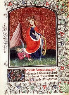 Illuminated pages from 15th century Breviaries | The Public Domain Review