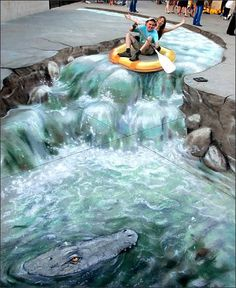3D Street Art - 3D Street | http://my-beautiful-arts-collections.blogspot.com