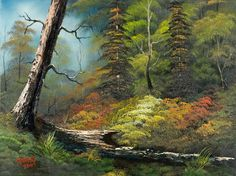 bob ross indian summer paintings                              …