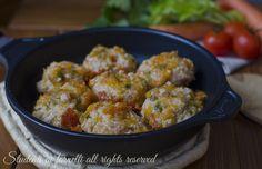 Polpette in umido leggere cotte in padella, perfette per la dieta. Un secondo piatto facile, veloce e light.