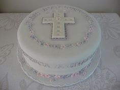 first communion badge | First Holy Communion Cake by ABC Cake Shop and Bakery