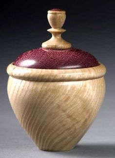 woodturning photos-ash-purple-heart-box.jpg