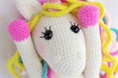 unicornios tejidos a crochet super lindos