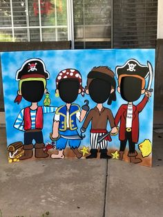 Pirate Birthday- Pirate Party- Pirate Photo Op- Pirate Photo Booth- Pirate Cutout- Pirate Standee- Pirate Decoration- Pirate Face In Hole Pirate danniversaire Pirate Pirate Party Photo Op Decoration Pirate, Pirate Party Decorations, Pirate Party Games, Pirate Face, Pirate Kids, Space Pirate, Halloween Fotos, Pirate Halloween, Halloween Party
