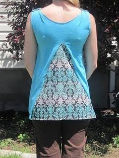 DIY Clothing & Tutorials: refashioned tshirt
