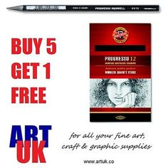 Koh-i-noor #artists solid #graphite woodless progresso pencils #sketching drawing,  View more on the LINK: http://www.zeppy.io/product/gb/2/131743987254/