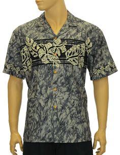 bef5816d8ca4 Check out the deal on Hibiscus Chest Band Rayon Hawaii Aloha Shirt at Shaka  Time Hawaii. Shaka Time Hawaii Clothing Store