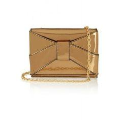 ZAC POSEN Shirley patent-PVC shoulder bag  Fresh Markdowns via savoirmode.com #savoirmode #purses #bags #cutebags #ilovecuteshoes #ilovecutefashion #summerstyle #summerchic #zacposen #patentleather   #shop #fashion #style #freshdeals #deals