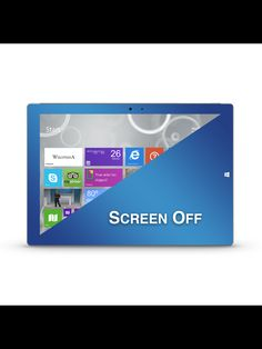 #microsoft #SurfacePro3 with a #titanium #glassshield #screenprotector find them at #PerfectFit #PerfectFitTech  www.perfectfittech.com/products/microsoft-surface-pro-3-titanium-blue-glassshield-premium-glass-screen-protector