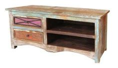 Grafton Distressed Solid Timber 2 Drawer TV Stand,Note: Please note since these products are made using reclaimed timber this makes each piece unique with Solid Wood, Dream Furniture, Online Furniture, Leather Dining, Tv Unit, Commercial Furniture, Timber, Wood Console, Timber Beds