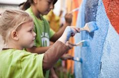 Being compassionate and doing good deeds helps kids build confidence and feel happy.