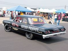 Old Muscle Cars, Chevy Muscle Cars, Nhra Drag Racing, High Performance Cars, Old Race Cars, Vintage Race Car, Chevy Impala, Drag Cars, Car Engine