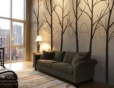 Wall stickers or could paint free hand