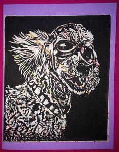 Standard Poodle print by ShootTheBreezePrints on Etsy, $2.50