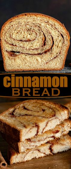 Homemade Cinnamon Bread is a thing of beauty and you'll never believe how easy it is to make! Homemade bread is always a special treat but when you add in swirls of cinnamon sugar? Best Bread Recipe, Easy Bread Recipes, Baking Recipes, Bread Flour Recipes, Easy Homemade Bread, Easy French Bread Recipe, Homemade French Bread, Breakfast Bread Recipes, Homemade Breakfast