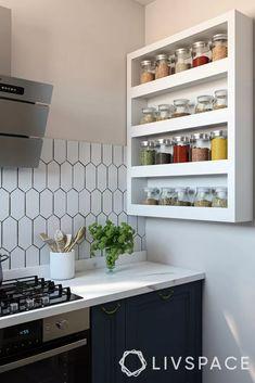 Kitchen Cupboard Designs, Kitchen Room Design, Diy Kitchen Storage, Modern Kitchen Design, Kitchen Layout, Home Decor Kitchen, Interior Design Kitchen, Kitchen Rack, Kitchen Modular