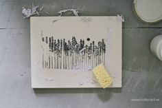 Crea Decora Recicla by All washi tape | Autentico Chalk Paint: TUTORIAL TRANSFERENCIA DE IMAGENES CON CHALK PAINT