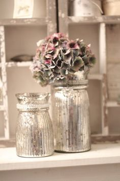 nochmal Bauernsilber, nochmal Blumenvasen...