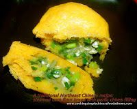 a traditional Chinese corn flour recipe steamed corn flour bread with fillings