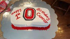 Ohio State O cake Cake Smash, Fondant, Ohio, Desserts, Recipes, Cakes, Food, Fondant Icing, Columbus Ohio