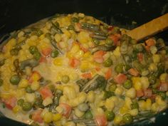 theArtisticFarmer: Cheesy Creamed Vegetables (or Corn)