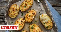 Nyt on aika päästää vanha peruna päiviltä ja toivottaa uusi neitsytperuna tervetulleeksi. Baked Potato, Zucchini, Food And Drink, Potatoes, Baking, Vegetables, Breakfast, Ethnic Recipes, Food Ideas