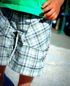 You can't say you don't need them. Learn how to make Refashioned Boys Shorts this #summer. DIY shorts are a money saver, and these are super cute. Give this simple sewing pattern a try!