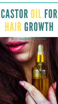 Castor Oil For Hair Growth: Castor oil is famous for its many medicinal properties. The lesser known fact is that it can also be used for hair growth. Castor Oil For Hair Growth, Hair Growth Oil, Hair Remedies For Growth, Home Remedies For Hair, Hair Oil, Etae Hair, Homemade Hair Serum, Diy Hair Hacks, Hair Dandruff