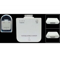White Emergency Entended Battery for iPhone and iPod Nano Classic