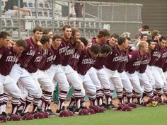 Aggie Baseball...literally the most attractive baseball team in America.