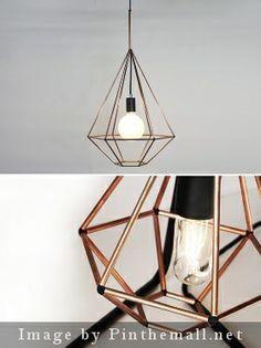 Rough Diamond Pendant Diamond Furniture, Son Of David, Cauldron, Rough Diamond, Diamond Pendant, Ceiling Lights, Diy, Home Decor, Home