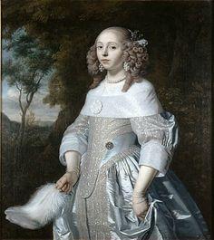 Jeanne Parmentier by Bartholomeus van der Helst, 1656