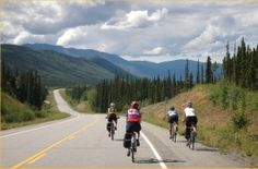 I think I want to do this. 300 mile, 7-day bike tour in Alaska.