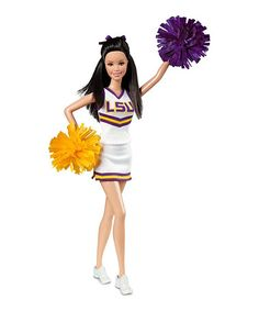 Another great find on #zulily! LSU Tigers Barbie Doll #zulilyfinds