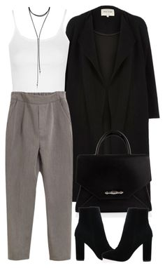 """""""Untitled #4133"""" by maddie1128 ❤ liked on Polyvore featuring River Island, Topshop, Givenchy and Forever 21"""