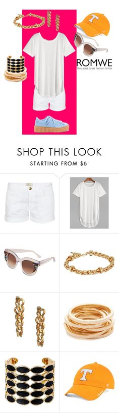 """""""Romwe"""" by elza-345 ❤ liked on Polyvore featuring Current/Elliott, Thierry Lasry, Lauren Ralph Lauren, House of Lavande, Kenneth Jay Lane, House of Harlow 1960 and '47 Brand"""