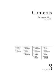 Typography magazine layout - PPT design inspiration