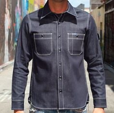 Iron Heart heavyweight denim shirt